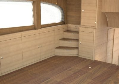 Saloon Steps Oak & Teak