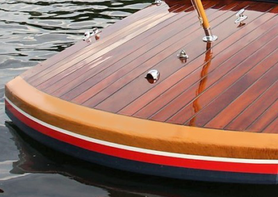 Slipper Launch Transom